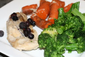 blueberry pork chops