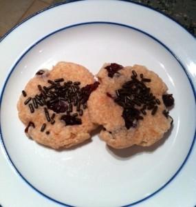 cherry cranberry cookies