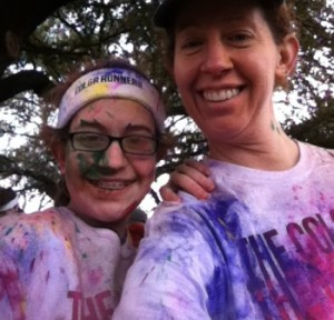 Me and The Kid - Color Run