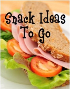 Snack Ideas To Go