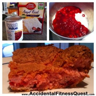 2 Ingredient Berry Cake