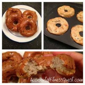 Baked Vanilla Protein Donuts
